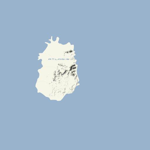 Kap Verde Landkarte - Atlogis Map Shop