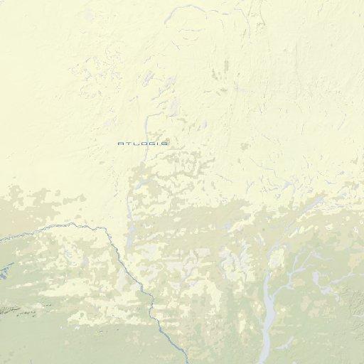 Burkina Faso Landkarte - Atlogis Map Shop